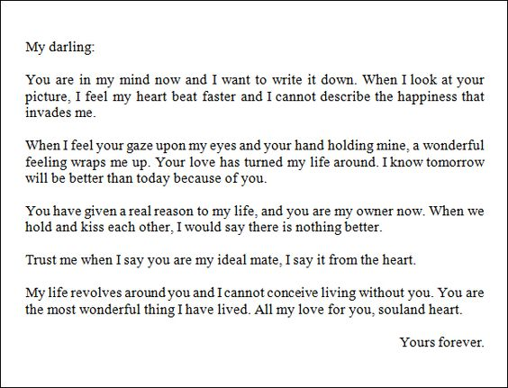Best Love Letter For A Boyfriend | Thoughts | Pinterest | Boyfriends And  Thoughts.