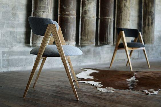 Cristian Mohaded Silla Once Mobiliario Pinterest Industrial - plexiglas für küchenrückwand