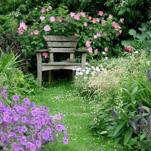 The Secret Of Successful Gardening Urban Garden Garden Seating