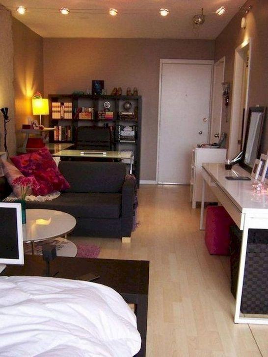 38 Vintage Apartment Studio Design And Decor Ideas To Try Apartment Decorating Rental Apartment Design Apartment Decorating Rental Budget