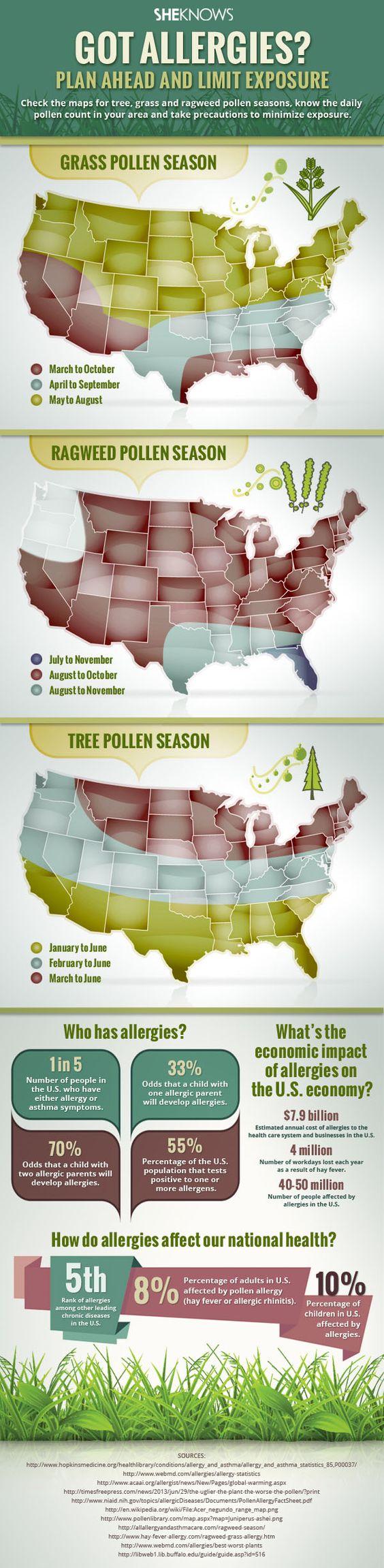 Tree Pollen Map Us Globalinterco - Us pollen map