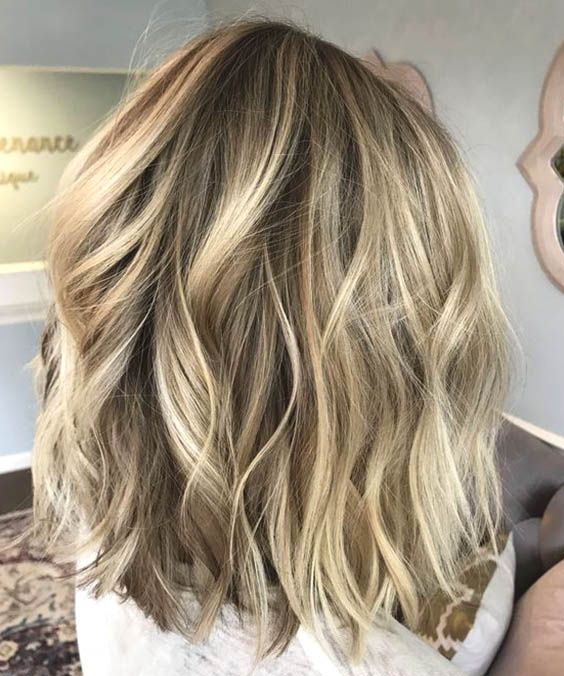 43++ Long bob hairstyles with blonde highlights ideas in 2021