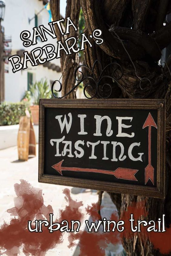 Wine tasting without the car! All you need is a beach cruiser and you can hit Santa Barbara's awesome urban wine trail.