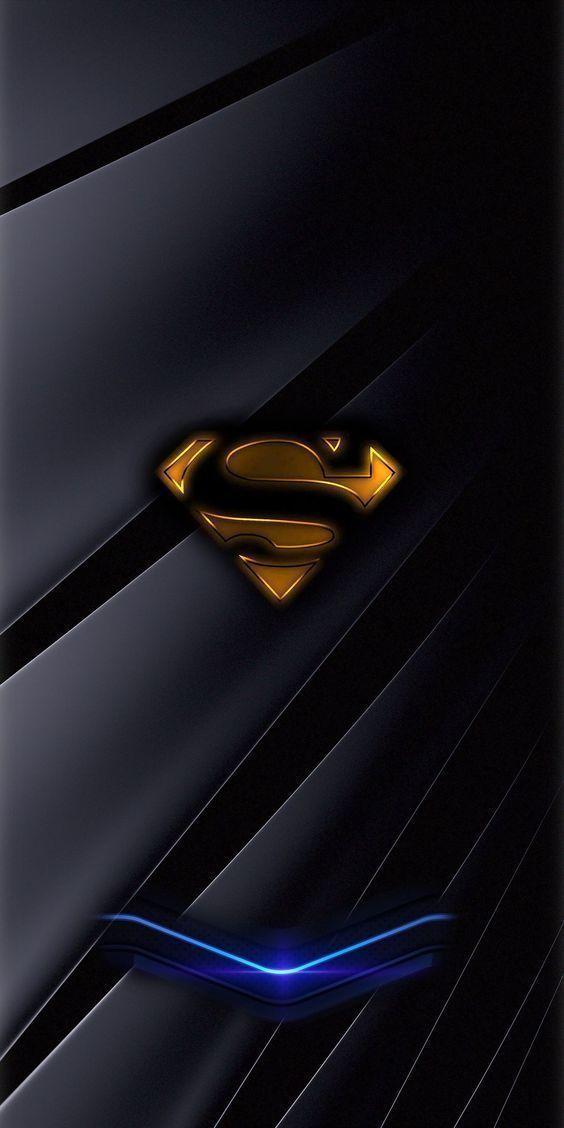 Smartphone Fond D Ecran Sombre Belle Smartphone Fond D Ecran Noir In 2020 Superman Wallpaper Superhero Wallpaper Superman Wallpaper Logo