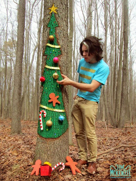 Christmas Town!?    #NightmareBeforeChristmas #TimBurton #StopMotion #RealLife #ChristmasTown #JimMckenzie #WoodsArt #DecoratingTrees #ChristmasTree