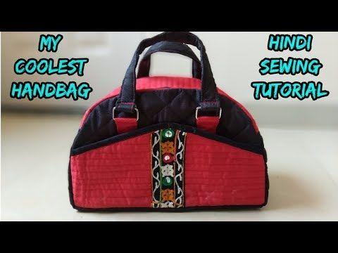 Bag Making Hindi Tutorial Handbag New