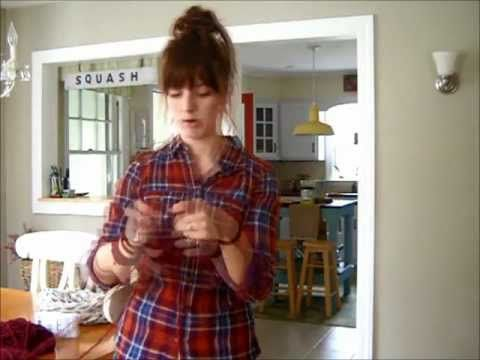 How to Arm Knit - The Fastest Way to Make a Chunky Scarf!