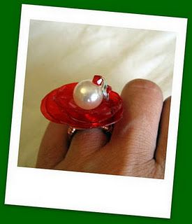 my PET Christmas ring