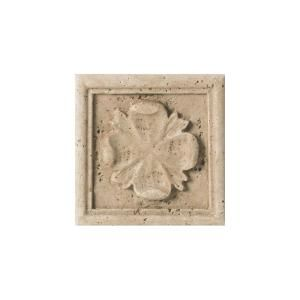 Daltile fashion accents positano travertine 4 in x 4 in for Travertine accent tile