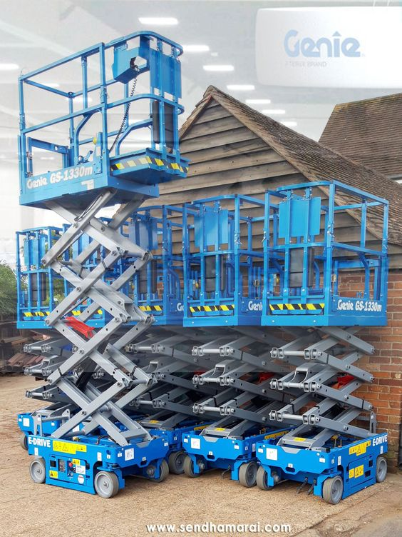 Genie Scissor Lifts Boom Lift Scissor Lift Rental