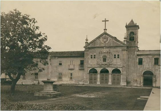 Igreja de Nossa Senhora do Desterro e Convenro de Santa Teresa. Década de 1930