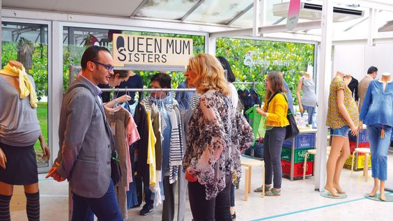 Queen Mum at Playtime Paris, summer 2016. #fashion #clothing #kids #tradeshow