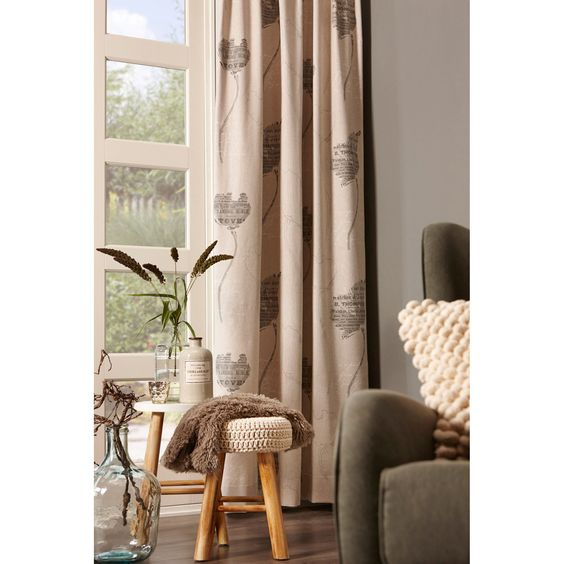 Sfeervolle gordijnen maken je interieur net wat warmer kwantum raambekleding pinterest - Gordijnen interieur decoratie ...