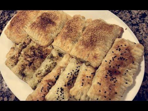 طريقة عمل فطاير البف باستري بالأجبان وصفات بنت الهاشمي Youtube Food Yummy Food Desserts