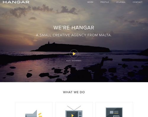 Beautiful examples of white color usage within web design