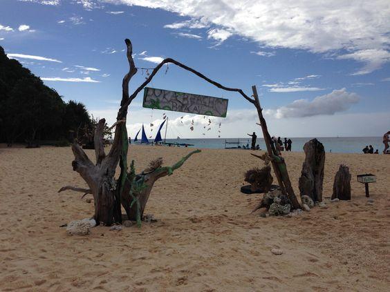 Puka Shell Beach, Malay, Aklan, Boracay, Philippines