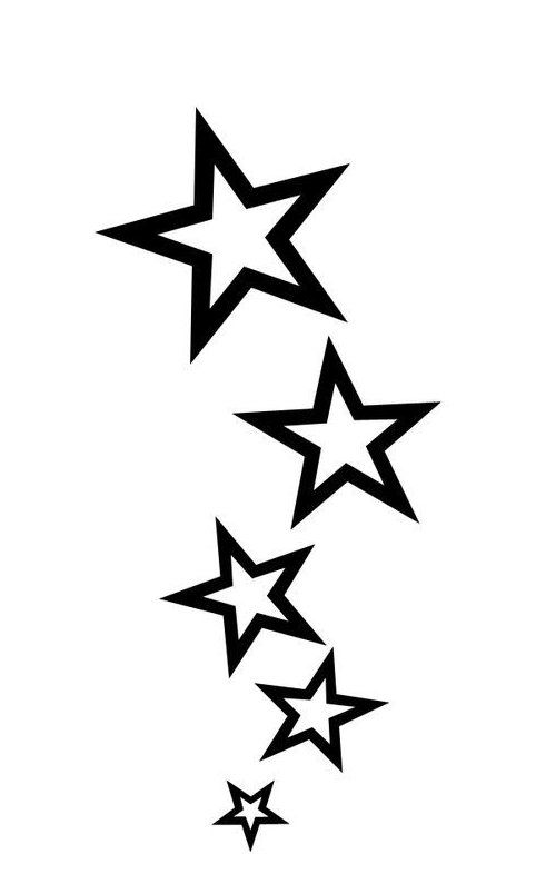 How To Make Tattoo Stencils Tattoo Basics Star Tattoo Design Tattoo Stencils Make Your Own Star Tat In 2020 Star Tattoo Designs Star Tattoos Shooting Star Tattoo