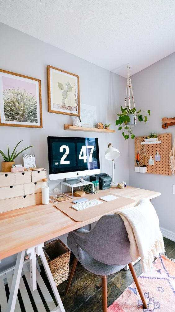 Mindful Home Office Inspiration for conscious living