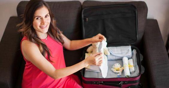 10 choses à mettre dans sa valise avant d'aller à la maternité