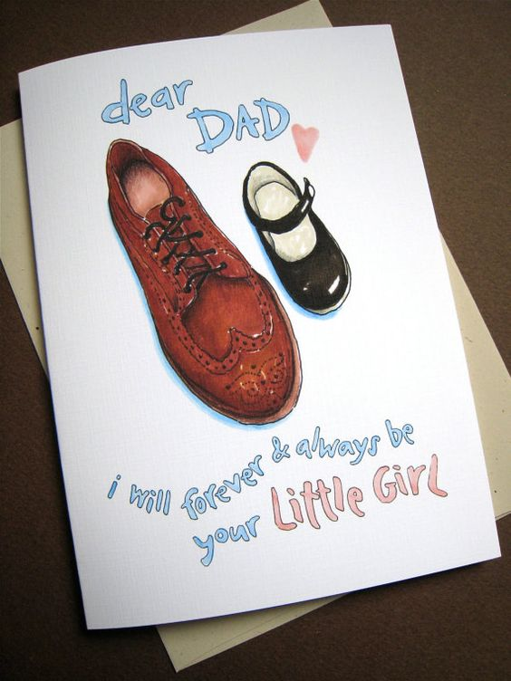 Fathers Day Card from Daughter - Dad Daughter Card - Dad ...