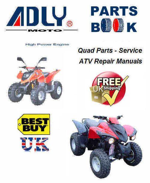 Adly Atv Quad Bike Manuals For Mechanics Atv Quads Quad Bike Quad