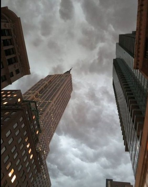 New York City Storm Photos: New Yorkers Document Enormous 'Ghostbuster' Clouds (PHOTOS)