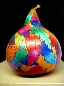 Gourds 6 by Geri Wood Gittings: