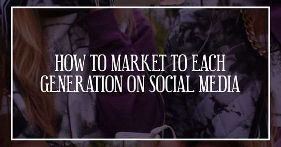 Ever wondered how to market to different age groups? Check out this awesome infographic for valuable insight into your social media marketing tactics!
