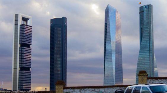 Las 4 Torres Business Area (CTBA), Atardecer en la Cuatro Torres