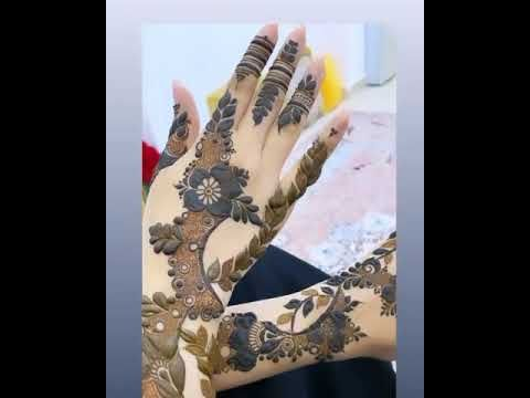 نقش حناء عروسه Youtube Henna