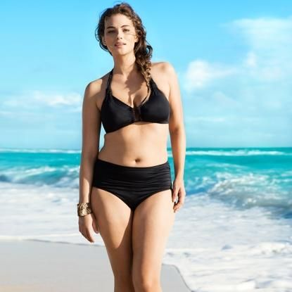 Jennie Runk's H swimwear campaign brought great attention to models who look like everyday women.