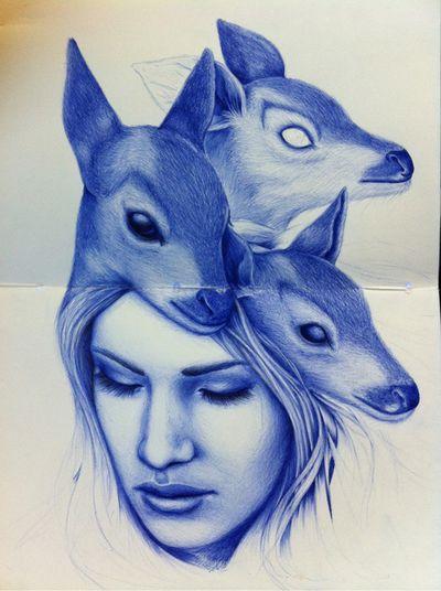 miserable & magical - sleeping beauty (love deers)