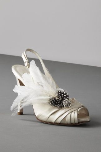 Schuhclip für die Brautschuhe