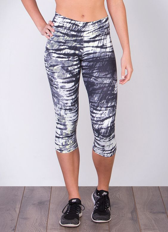 Wear Fashionable Clothing to Have a Modish Look-#DONA JO - AUTHENTIC CAPRI (ZEBRA)