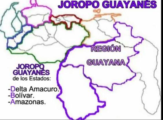 Joropo de la Región  de Guayana, Venezuela