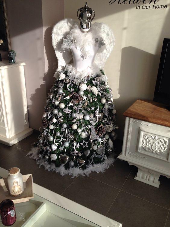 Self made Christmas dress