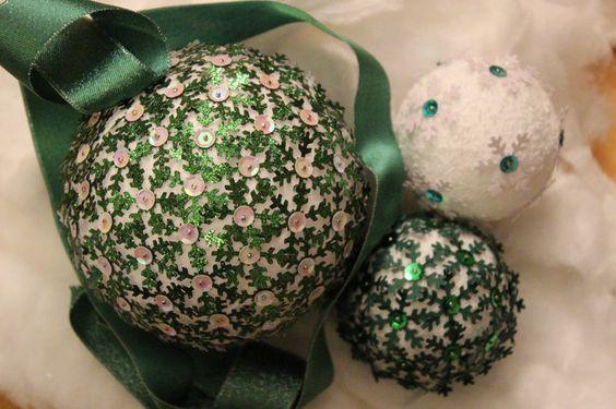 Weihnachten Schneeflocke von Krümelchen's kleine Welt auf DaWanda.com