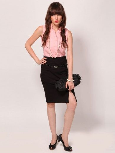 Buy Tiramisu High Waist Formal Skirt | Power Dressing | Pinterest ...