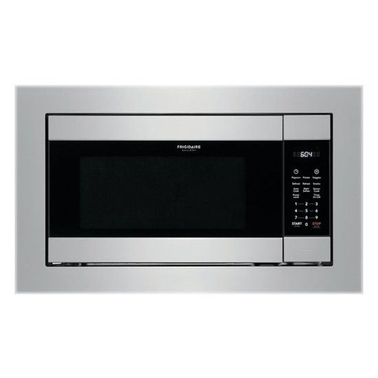 Frigidaire Gallery 2 2 Cu Ft Built In Microwave Stainless Steel Fgmo226nuf Best Buy Built In Microwave Frigidaire Gallery Stainless Steel Microwave