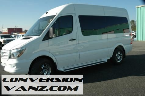 2014 mercedes benz sprinter sherrod conversion van for Mercedes benz conversion van