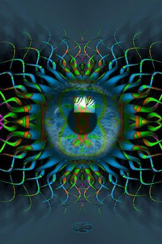 eye am mesmerized by this floating eye's  tentacles~Em♥