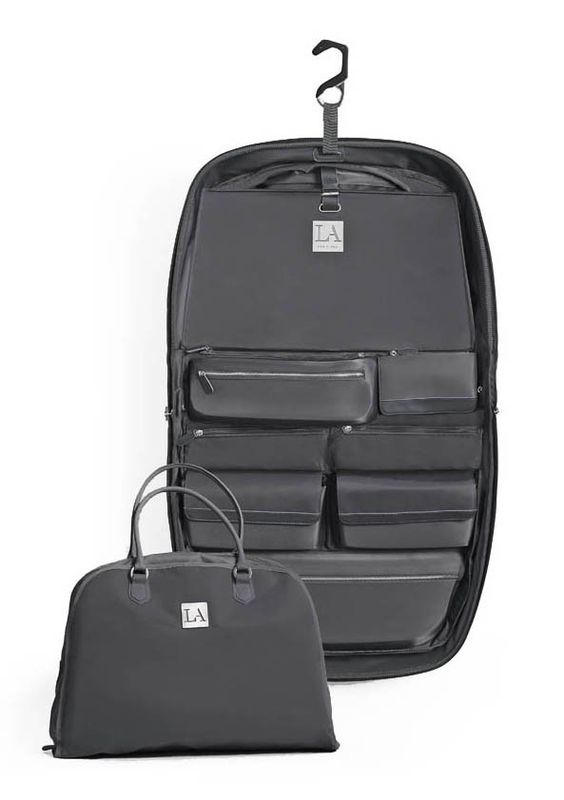 LAMOVE Mobile Closet #MaxMirani #LAClosetDesign #Suitcase #CarryOn