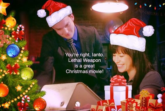 Lethal Weapon IS a Christmas movie! #Torchwood #MerryRiftmas ...