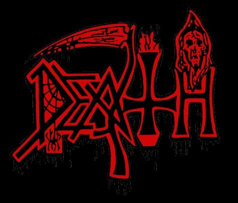 A Band Called Death Logo Pin by ErhanLiv...