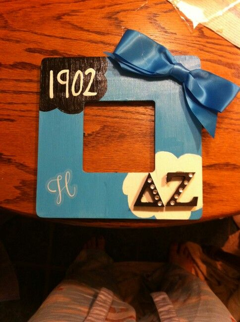 Fault in our stars sorority frame