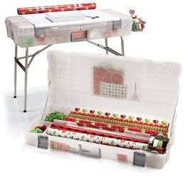Gift Packaging Workstation...love this!