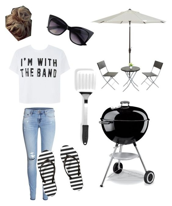 """Backyard Grill"" by paris1188 ❤ liked on Polyvore featuring Dot & Bo, H&M, Abercrombie & Fitch and Bodum"