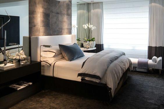 Nova Domus Romeo Italian Modern Black \ Rosegold Bedroom Set - schlafzimmer set modern