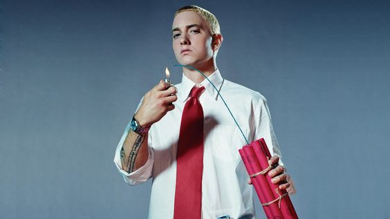 Eminem Dynamite Photography *posted by Hip Hop Fusion