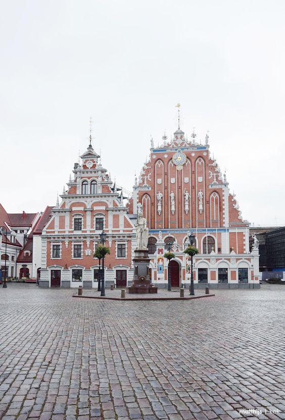 House of the Blackheads, Riga, Latvia | Photo by Matthijs Kok